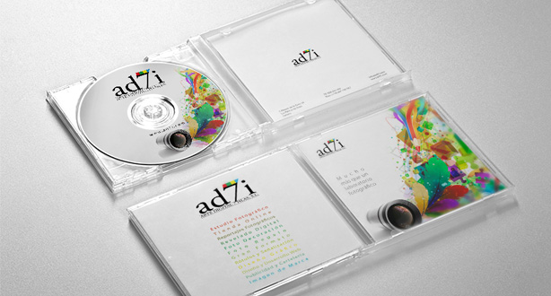 Diseño de packaging CD